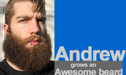 Andrew Grows An Awesome Beard All About Beards
