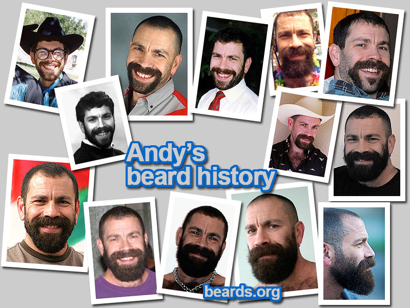 Click to go to Andy's beard history photo album.