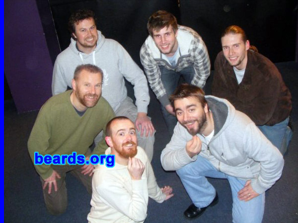 Ark 2009 charity beard growers
