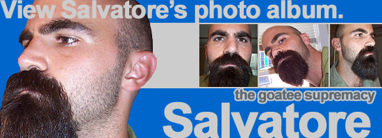 Incredible Salvatore The Goatee Supremacy All About Beards Hairstyle Inspiration Daily Dogsangcom