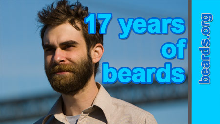 17 years of all about beards