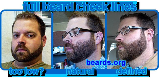 Marvelous Choosing A Cheek Line For Your Full Beard All About Beards Short Hairstyles For Black Women Fulllsitofus