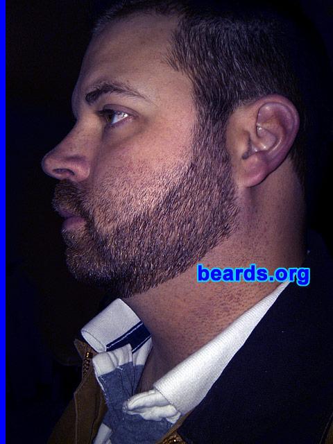 how to cut a neckline on a beard