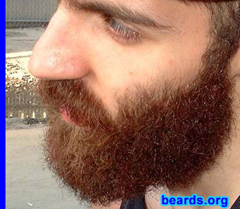 Dan's bearded success!