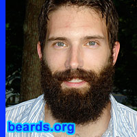 photo of Joe's excellent beard