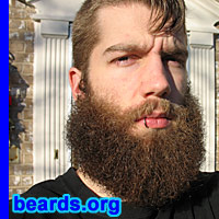 photo of Andrew's awesome beard