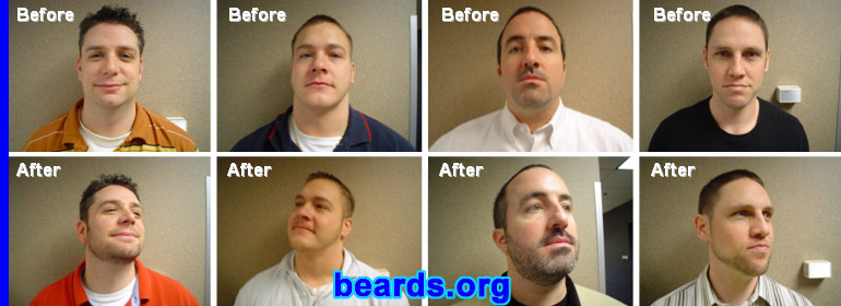 other 2005 GNC Beard Challenge competitors