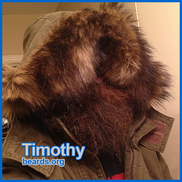 Timothy: all about the beard.