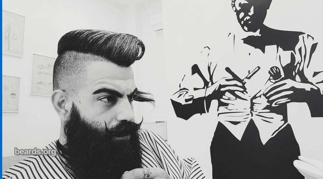 Groovy Stelios Todays Beard 2017 03 29 All About Beards Short Hairstyles For Black Women Fulllsitofus