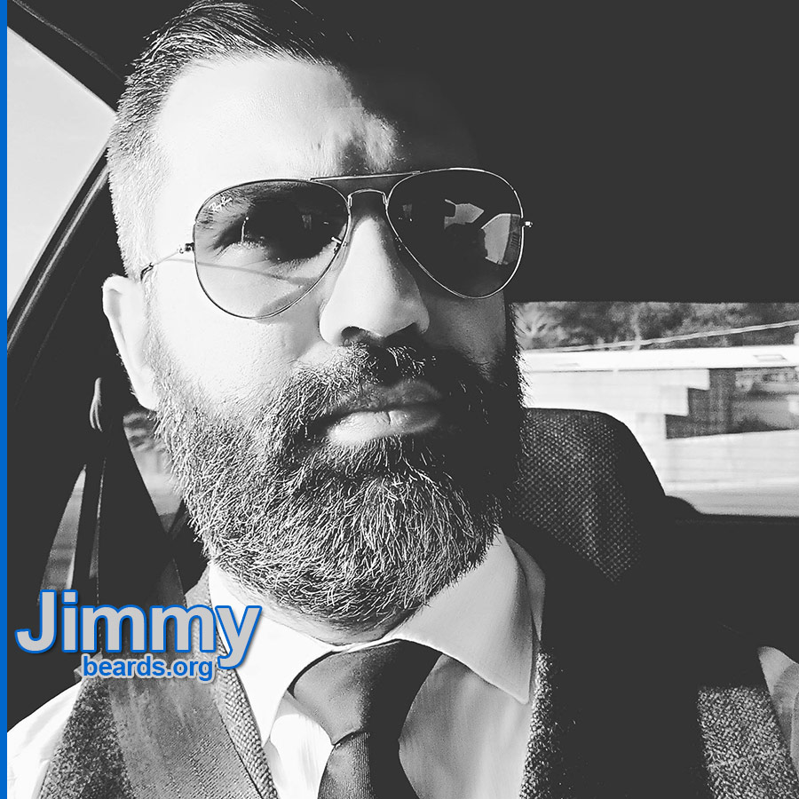Jimmy's excellent, strong beard photo 1