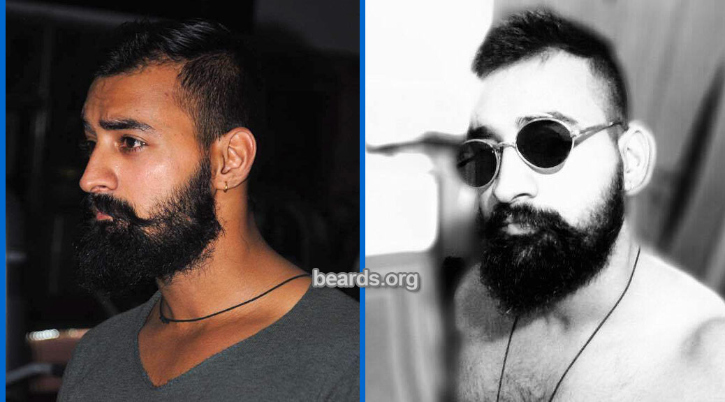 Rahul, featured beard image
