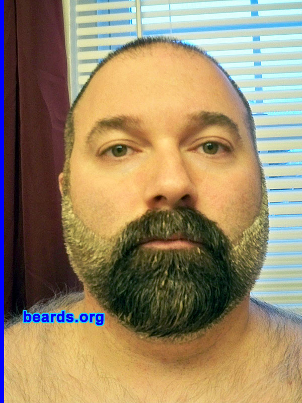 Kevin\'s beard coloring experience - Kevin, after coloring - beards ...