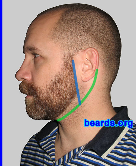 Awesome Designing A Neck Line For Your Full Beard All About Beards Short Hairstyles Gunalazisus