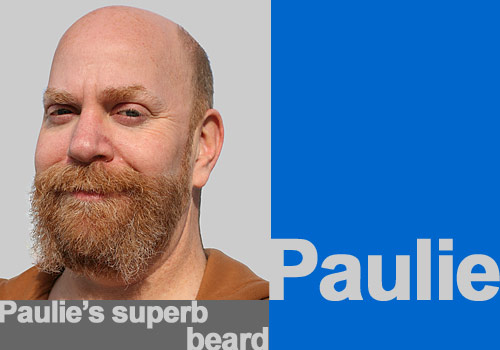Paulie's superb beard