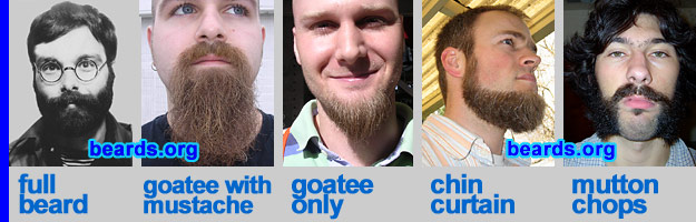 real beard styles