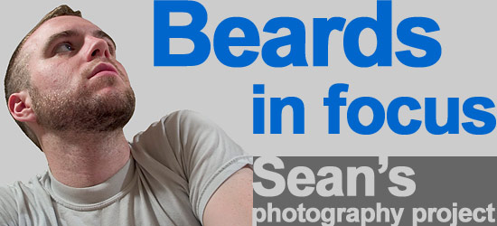 beards in focus: Sean's photo project