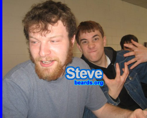 Steve before the first full beard