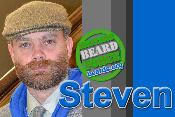 Triumph of the beard: Steven