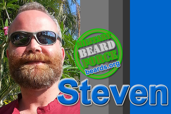 Steven's superior beard: the growth continues.