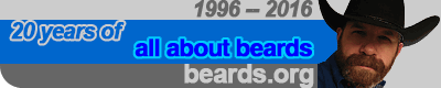 Twenty years of all about beards!