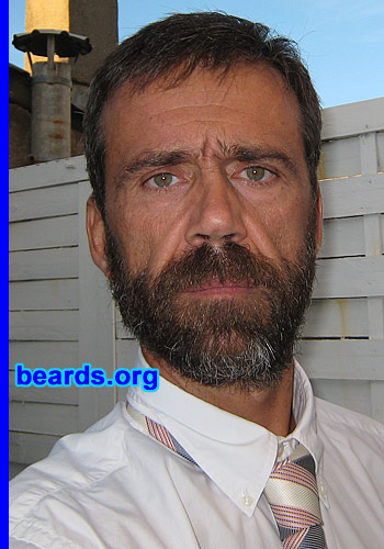 Vincent's bearded success!